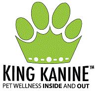King Kanine green and black logo
